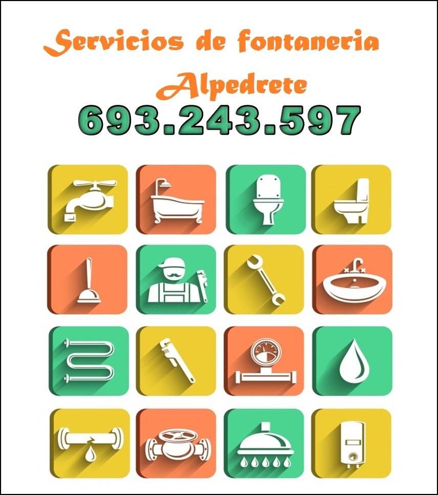 servicios de fontaneria en alpedrete